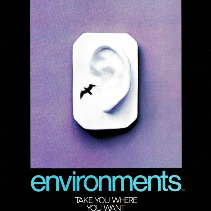 Poster: <em>Environments</em> take you where you want to be