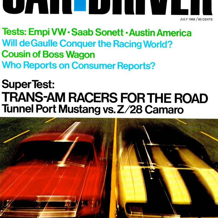 Another <em>Car and Driver</em> cover shot