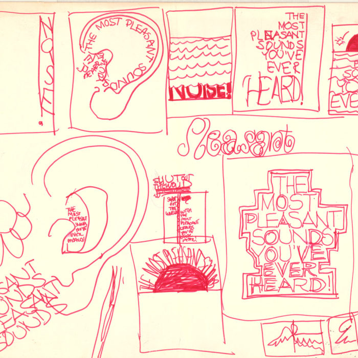 Early sketches for promotional material