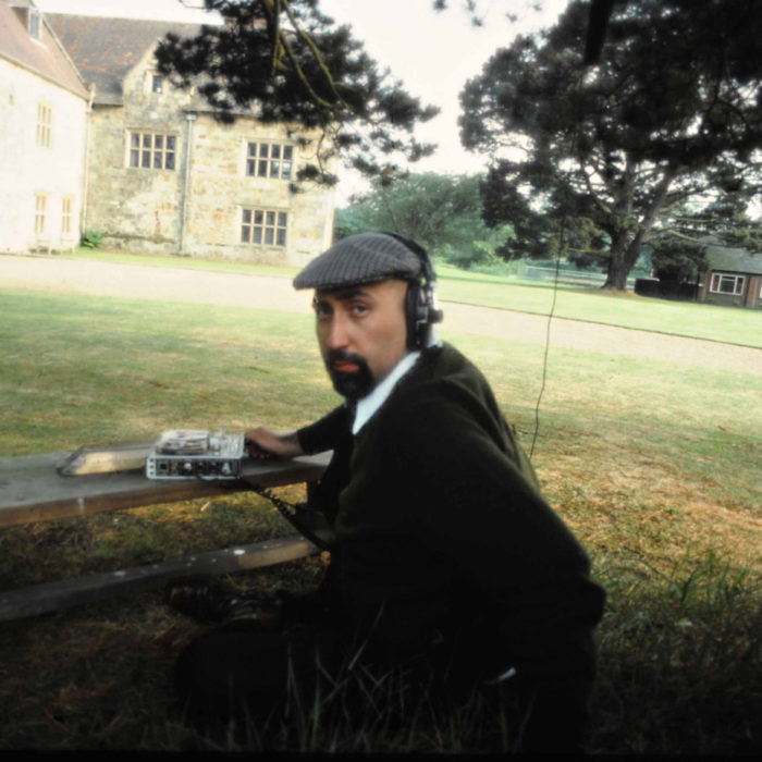 On assignment in rural England, late 1970's